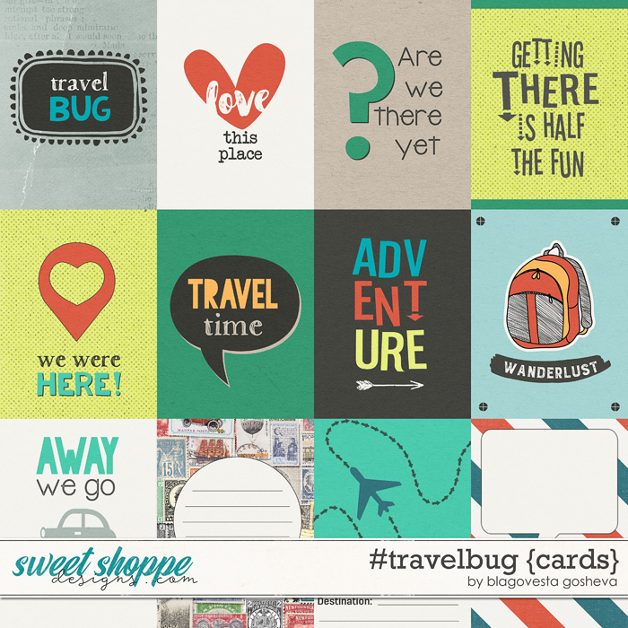 #travelbug {cards} by Blagovesta Gosheva