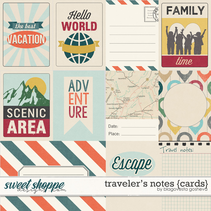 Traveler's Notes {cards} by Blagovesta Gosheva