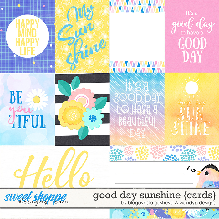 Good day Sunshine - Cards by Blagovesta Gosheva & WendyP Designs