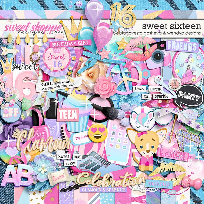 Sweet 16 - by Blagovesta Gosheva & WendyP Designs