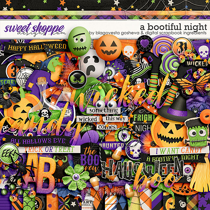 A Bootiful Night by Blagovesta Gosheva & Digital Scrapbook Ingredients