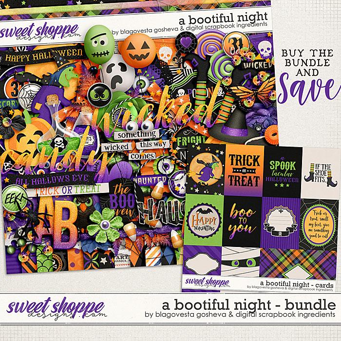 A Bootiful Night {bundle} by Blagovesta Gosheva & Digital Scrapbook Ingredients