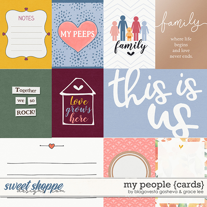 My People: Cards by Blagovesta Gosheva and Grace Lee