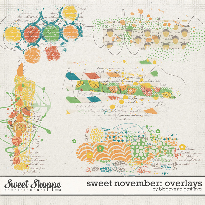 Sweet November: Overlays by Blagovesta Gosheva