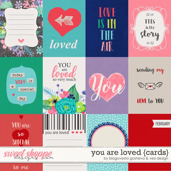 You Are Loved {cards} by Blagovesta Gosheva & Vesi Design