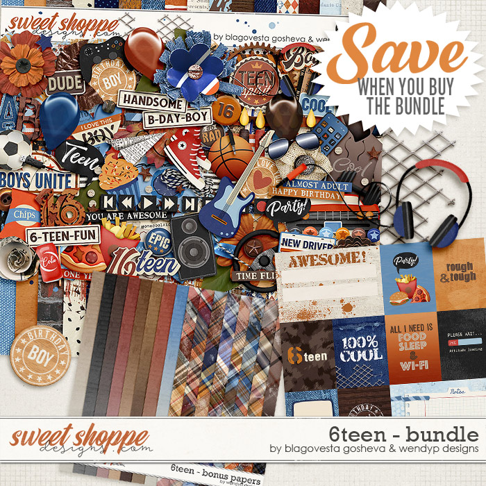 6teen {bundle} by Blagovesta Gosheva & WendyP Designs