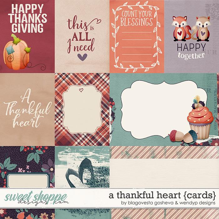 A thankful heart {cards} by Blagovesta Gosheva & WendyP Designs