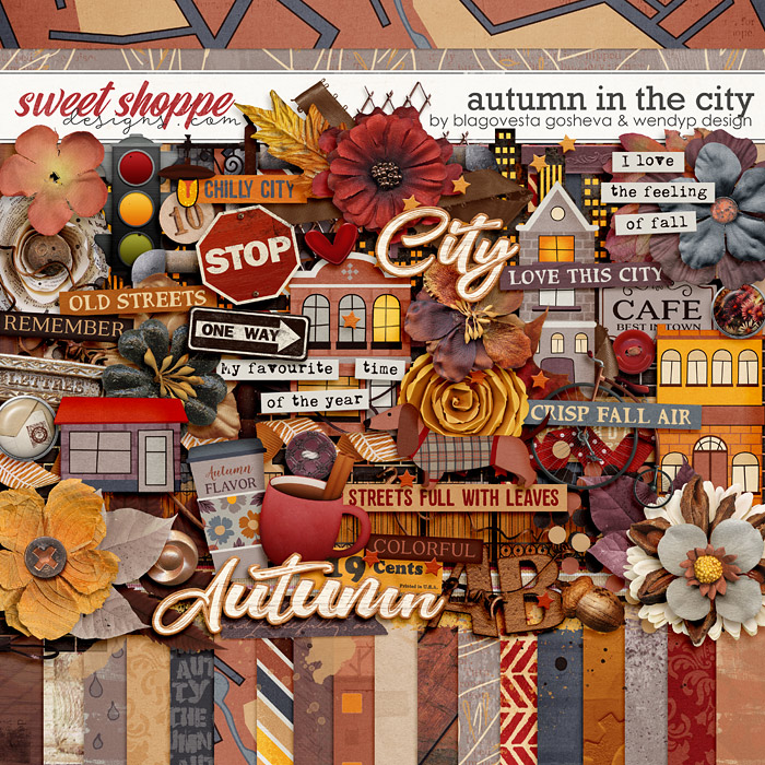 Autumn in the city by Blagovesta Gosheva & WendyP Designs