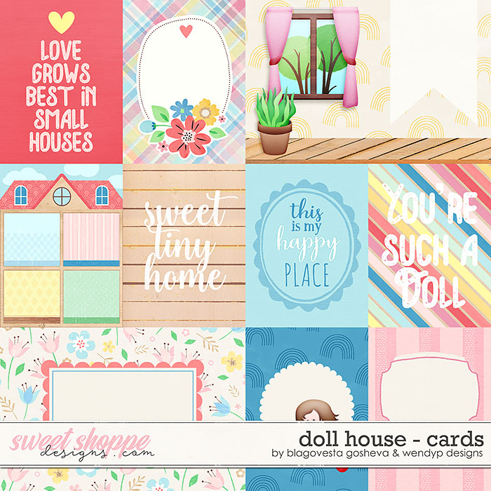 Doll House {cards} by Blagovesta Gosheva & WendyP Designs