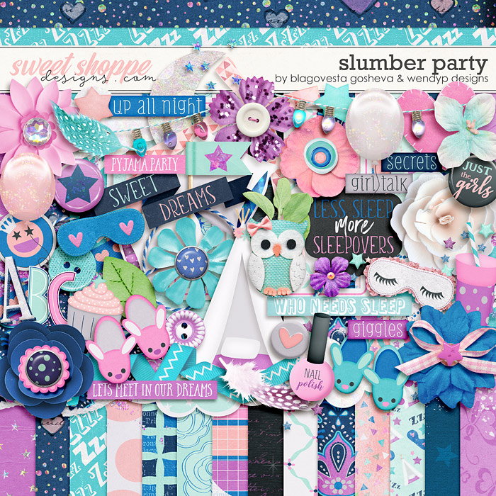 Slumber Party by Blagovesta Gosheva & WendyP Designs