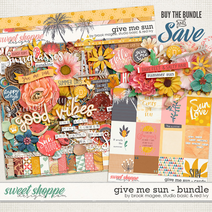 Give Me Sun Bundle by Brook Magee, Red Ivy Design & Studio Basic Designs
