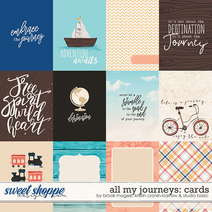All My Journeys Cards by Brook Magee, Kristin Cronin-Barrow & Studio Basic