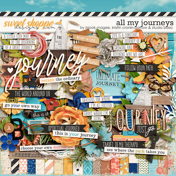 All My Journeys Kit by Brook Magee, Kristin Cronin-Barrow & Studio Basic