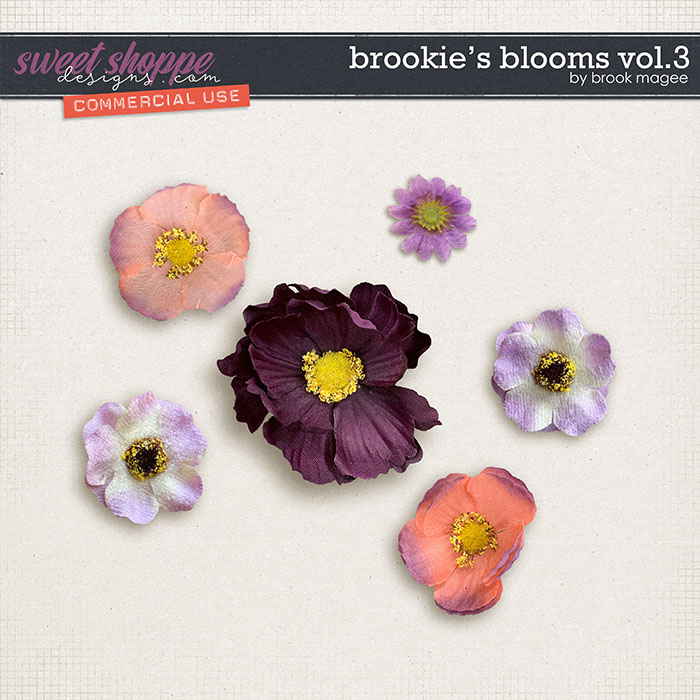 Brookie's Blooms Vol.3 - CU - by Brook Magee