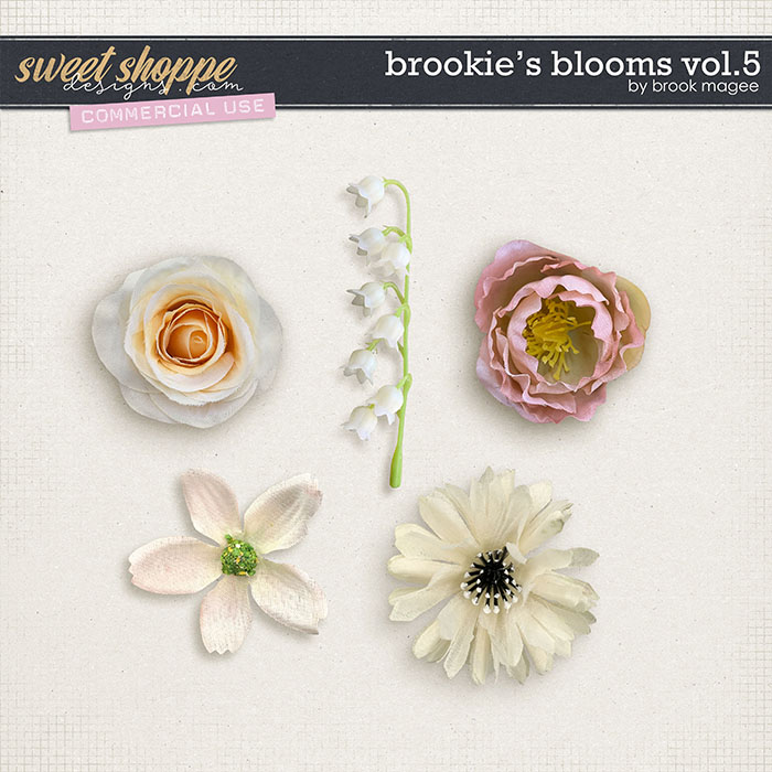 Brookie's Blooms Vol.5 - CU - by Brook Magee