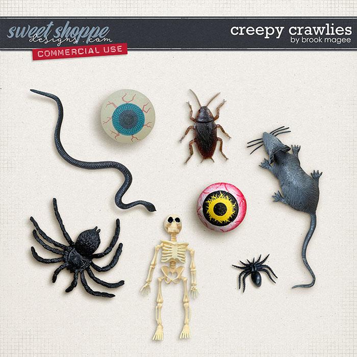 Creepy Crawlies - CU - by Brook Magee