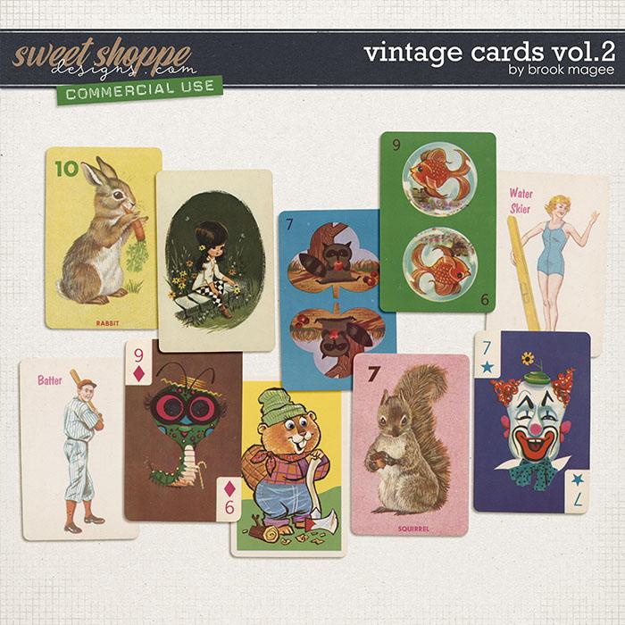 Vintage Cards Vol.2 - CU - by Brook Magee