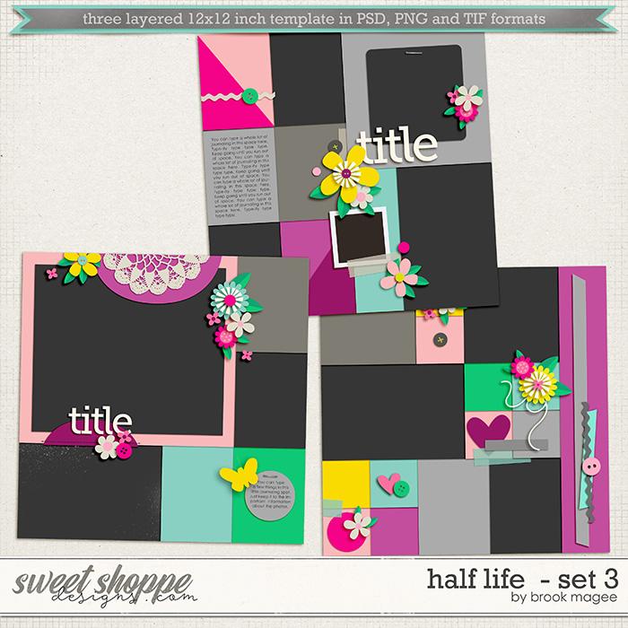Brook's Templates - Half Life - Set 3 by Brook Magee