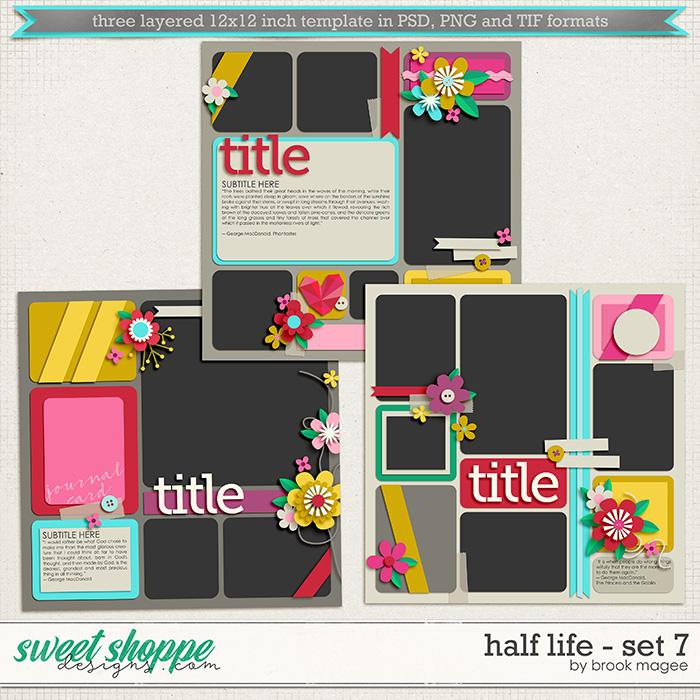 Brook's Templates - Half Life - Set 7 by Brook Magee