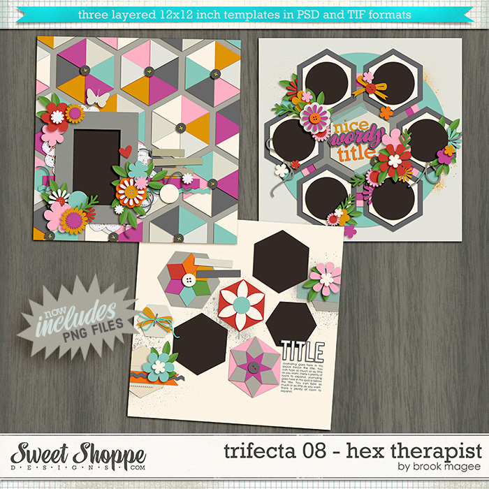 Brook's Templates - Trifecta 08 - Hex Therapist by Brook Magee