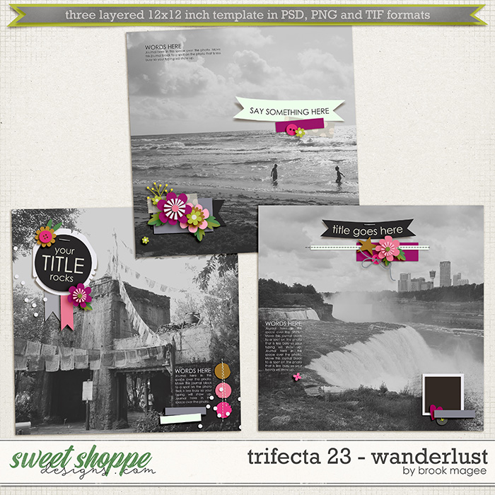 Brook's Templates - Trifecta 23 - Wanderlust by Brook Magee