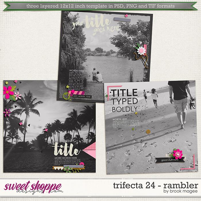 Brook's Templates - Trifecta 24 - Rambler by Brook Magee