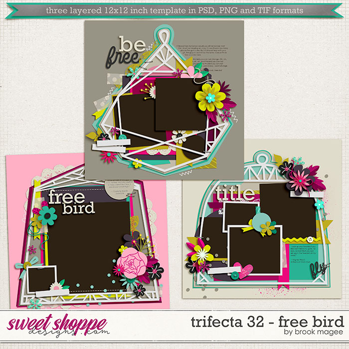 Brook's Templates - Trifecta 32 - Free Bird by Brook Magee