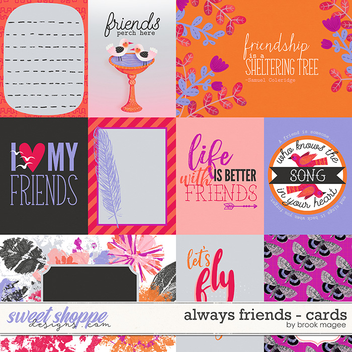 Always Friends - Cards by Brook Magee
