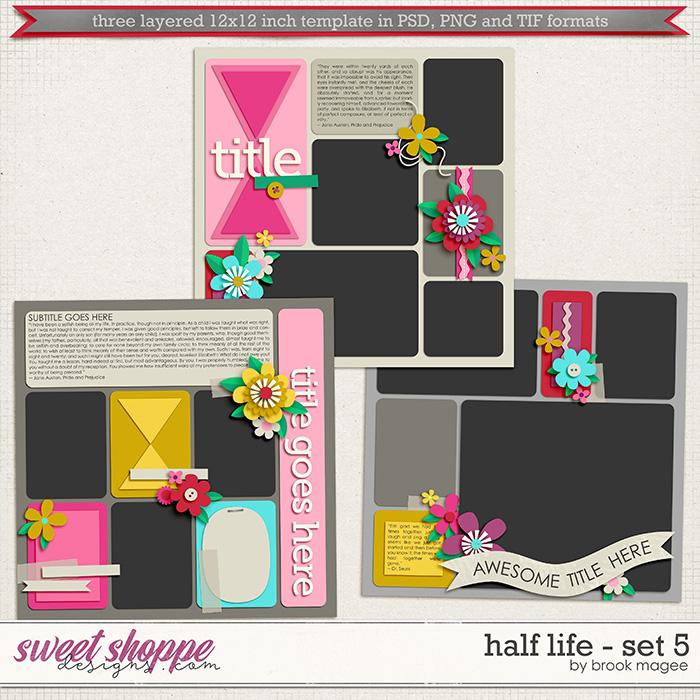 Brook's Templates - Half Life - Set 5 by Brook Magee