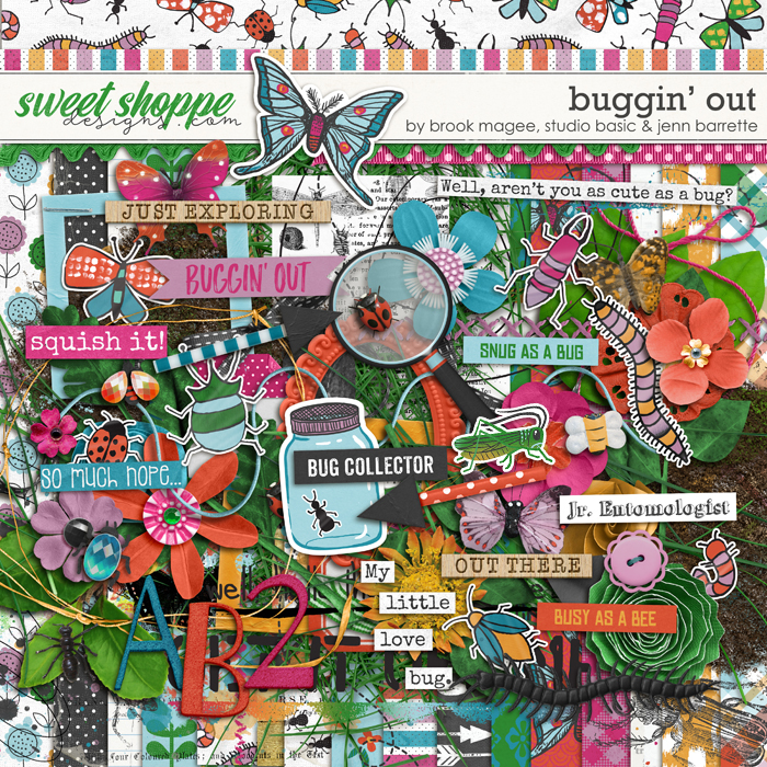 Buggin' Out by Brook Magee, Jenn Barrette and Studio Basic Designs