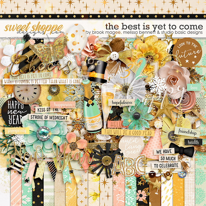 The Best is Yet to Come by Brook Magee, Melissa Bennett & Studio Basic Designs