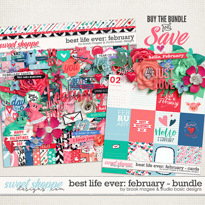 Best Life Ever: February Bundle by Brook Magee and Studio Basic