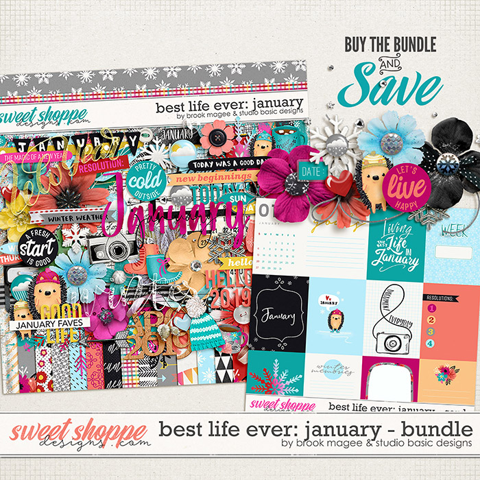 Best Life Ever: January Bundle by Brook Magee and Studio Basic