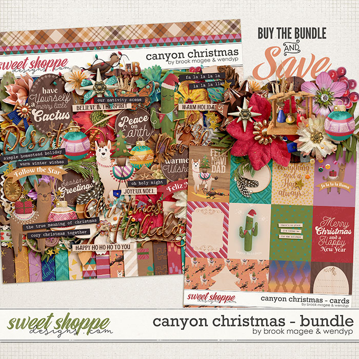 Canyon Christmas - Bundle by Brook Magee & WendyP Designs