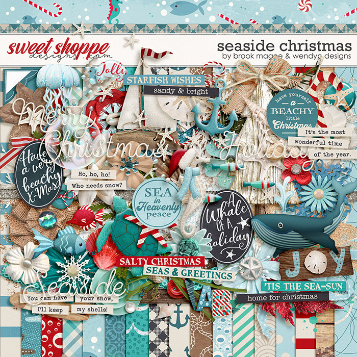 Seaside Christmas by Brook Magee & WendyP Designs
