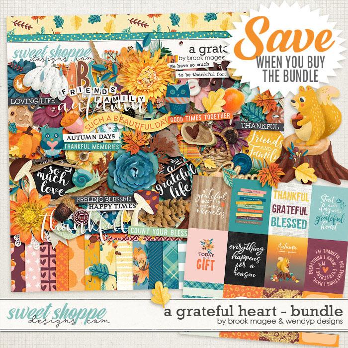 A Grateful Heart - Bundle by Brook Magee & WendyP Designs