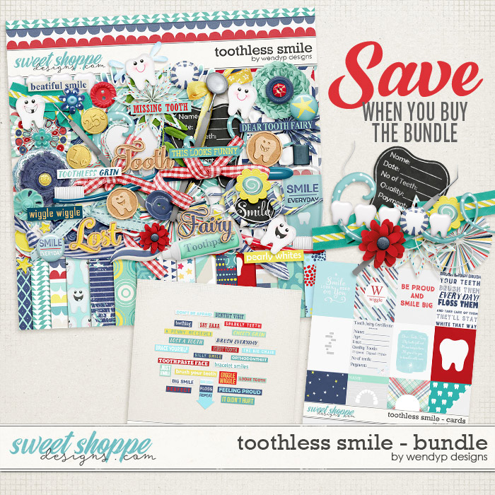 Toothless Smile Bundle by WendyP Designs