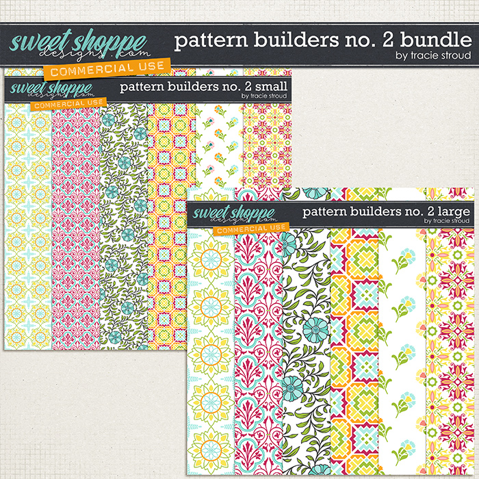 CU Pattern Builders no. 2 Bundle by Tracie Stroud