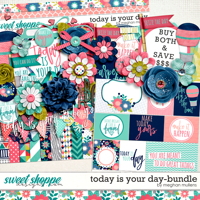 Today Is Your Day-Bundle by Meghan Mullens
