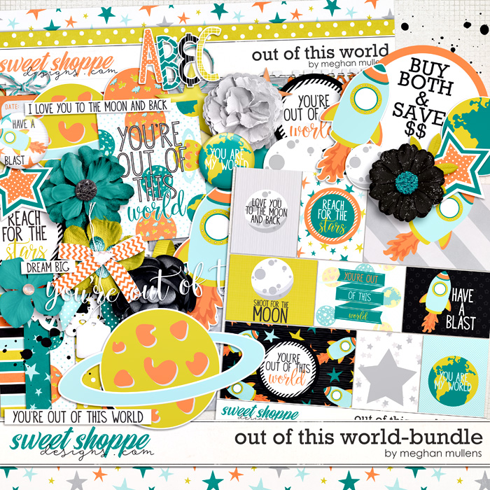 Out Of This World-Bundle by Meghan Mullens