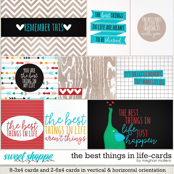 The Best Things In Life-Card Pack by Meghan Mullens