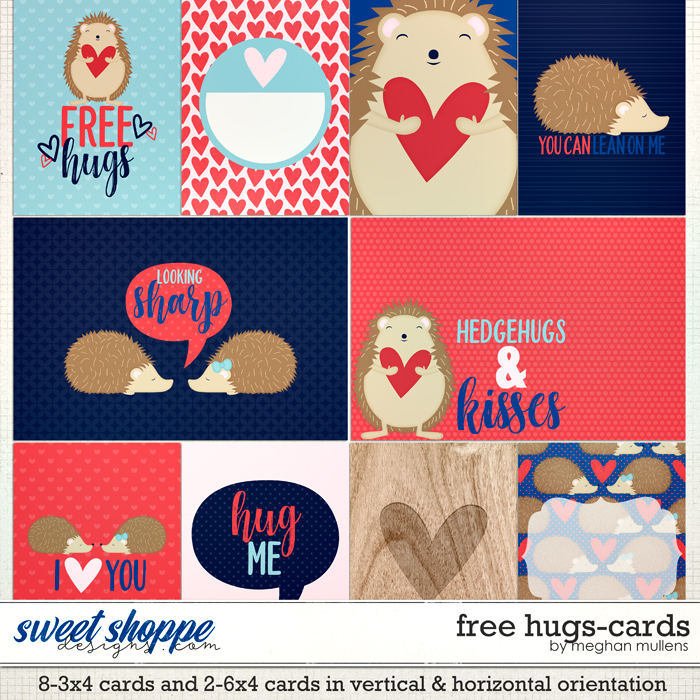 Free Hugs-Project Cards by Meghan Mullens