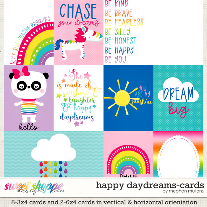 Happy Daydreams-Project Cards by Meghan Mullens