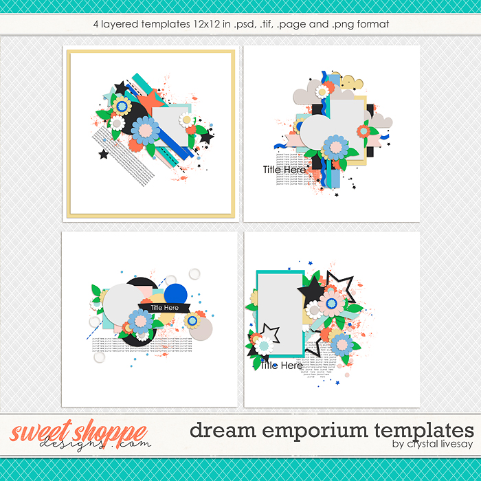 Dream Emporium Templates by Crystal Livesay