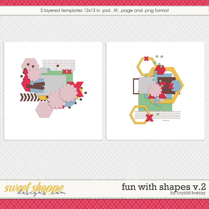 Fun With Shapes V.2 by Crystal Livesay
