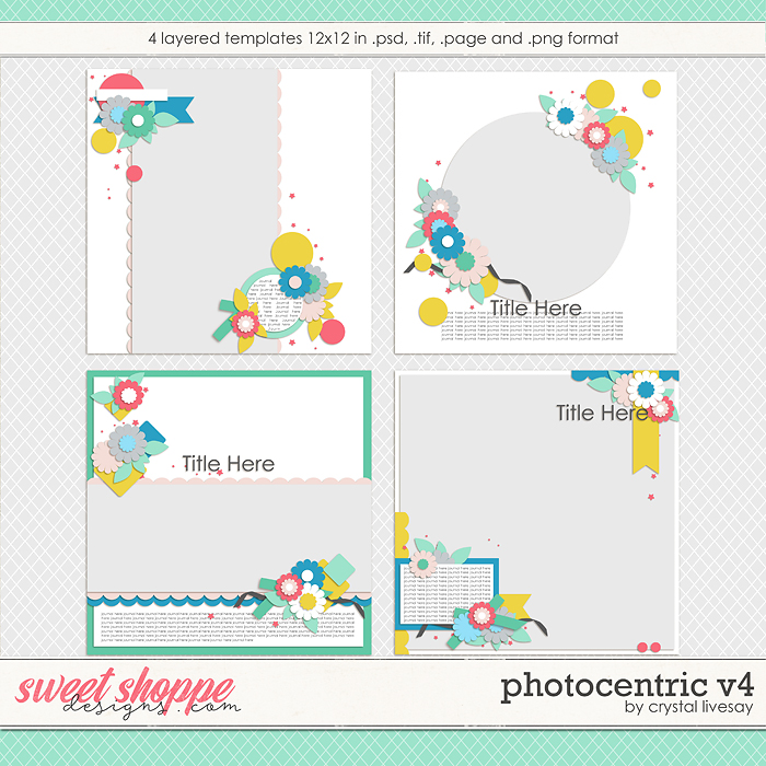 Photocentric V4 Templates by Crystal Livesay