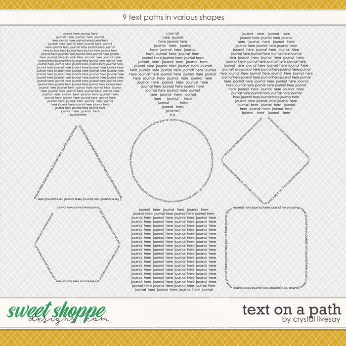 April Champions Text Paths by Crystal Livesay