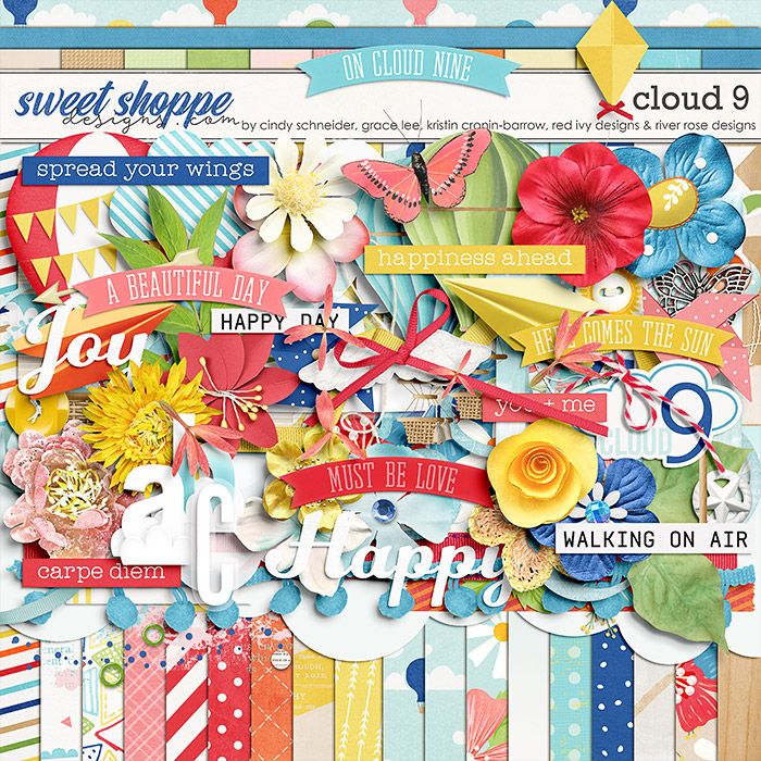 *OFFER EXPIRED* Cloud 9 by Cindy Schneider, Grace Lee, Kristin Cronin-Barrow, Red Ivy Designs and River~Rose Designs