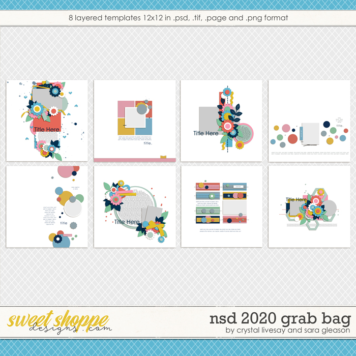 iNSD 2020 Template Grab Bag by Crystal Livesay and Sara Gleason