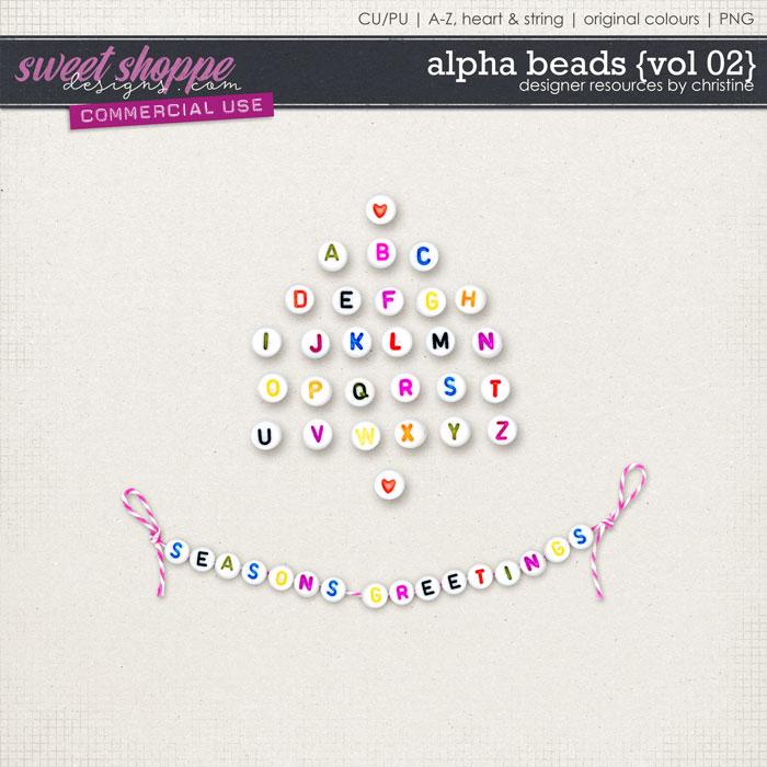 Alpha Beads {Vol 02} by Christine Mortimer
